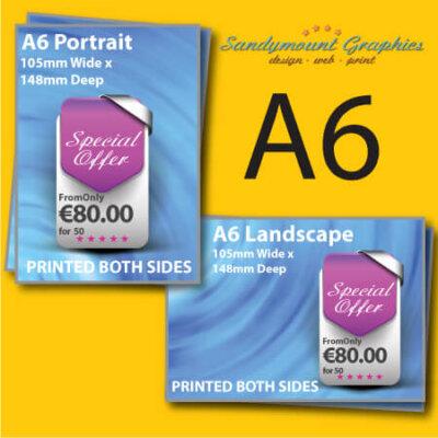 A6 Leaflet