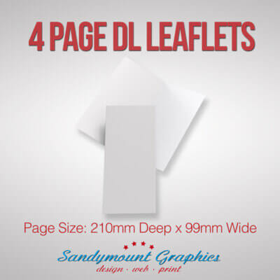 Leaflets 4pp DL at Sandymount Graphics