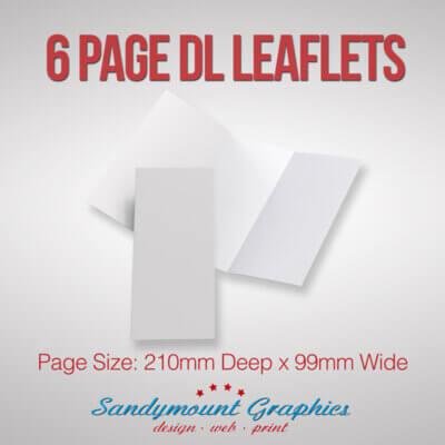 Leaflets 6pp DL at Sandymount Graphics