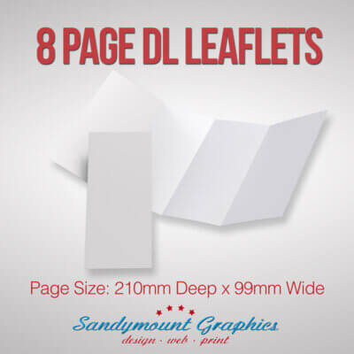 Leaflets 8pp DL at Sandymount Graphics