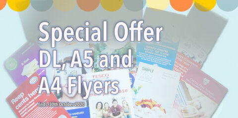 Special Offer on Flyers at Sandymount Graphics