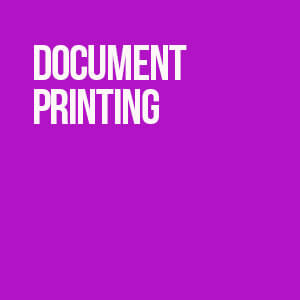 Document Printing Category at Sandymount Graphics